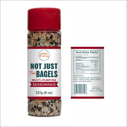 Not Just for Bagels Seasoning
