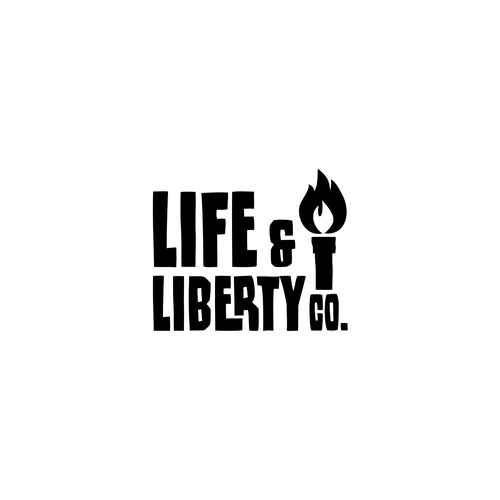 logo new apparel brand Life & Liberty Co.