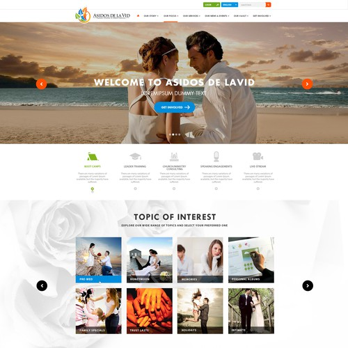 Create a Clean, Attractive Website for Asidos de la Vid