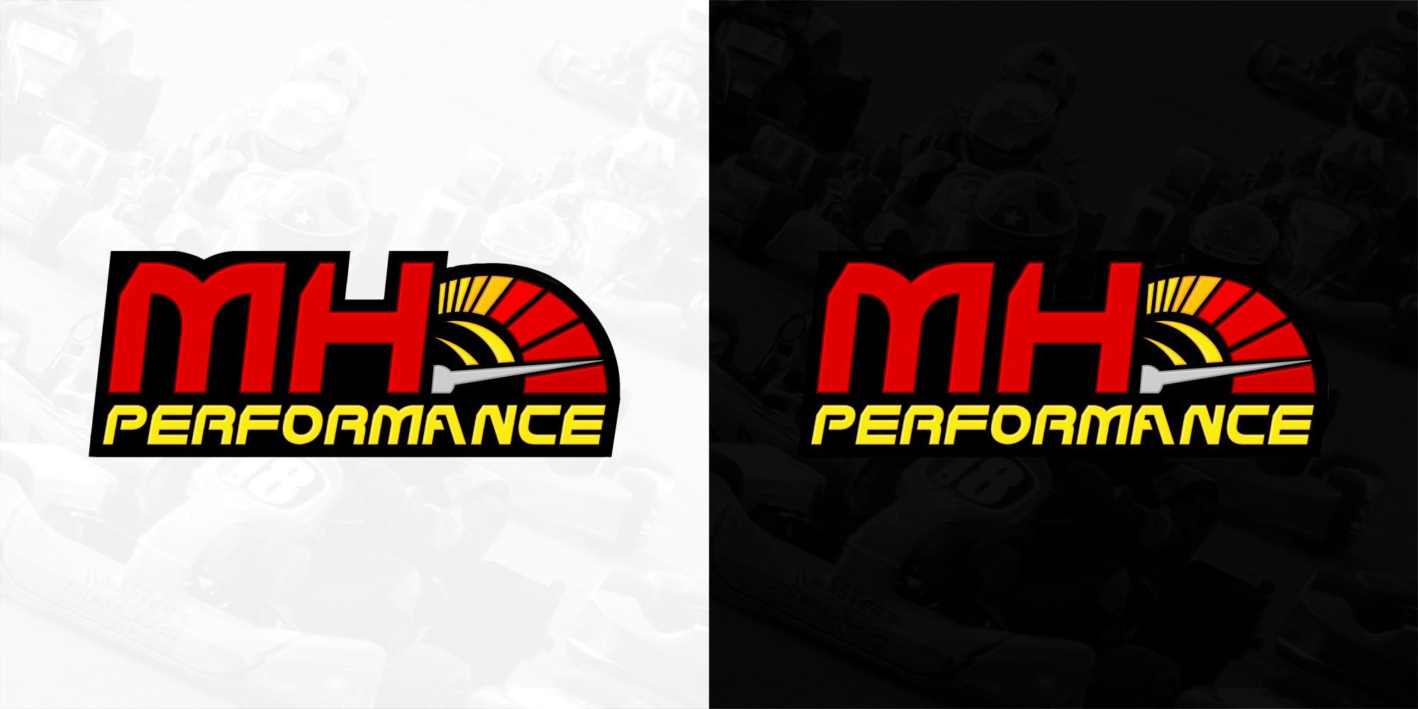 Création d'un logo pour une équipe de sport automobile (MH Performance)