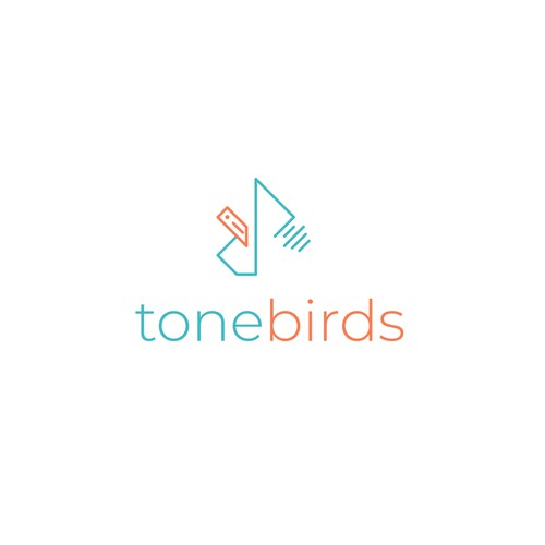 Music Logo (bird + music)