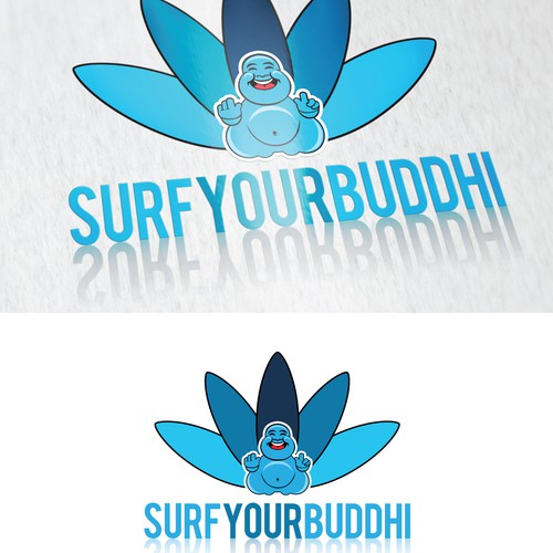Surf Your Buddhi - Lifestyle, Health and Well-Being Coach - Logo Design