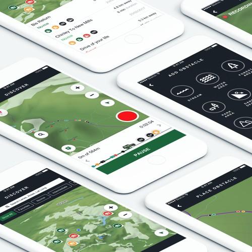 Concept app for Automotive OEM