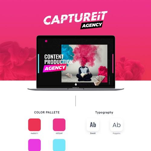 Marketing Agency website (cool shit)