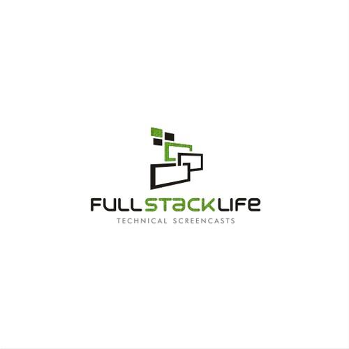 FullStackLife (or F5L) logo design