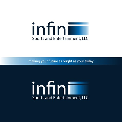 Logo design for infini - a sports and entertainment comapny