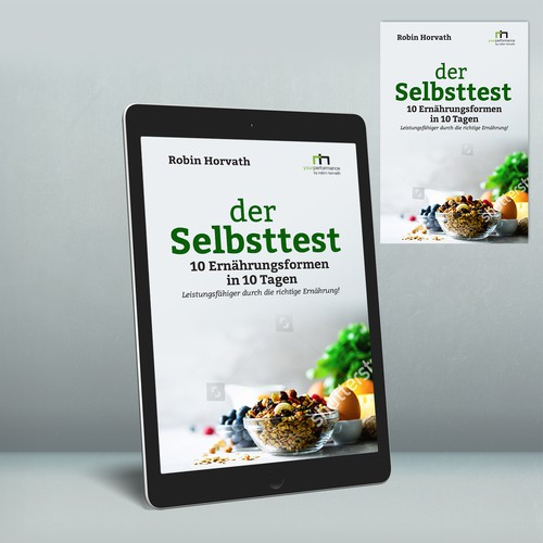 """Book Cover """"der Selbsttest"""""""