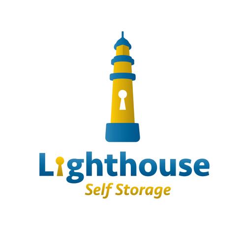 Logo design for Lighthouse Self Storage -