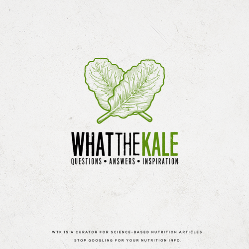 Vintage logo for whatthekale