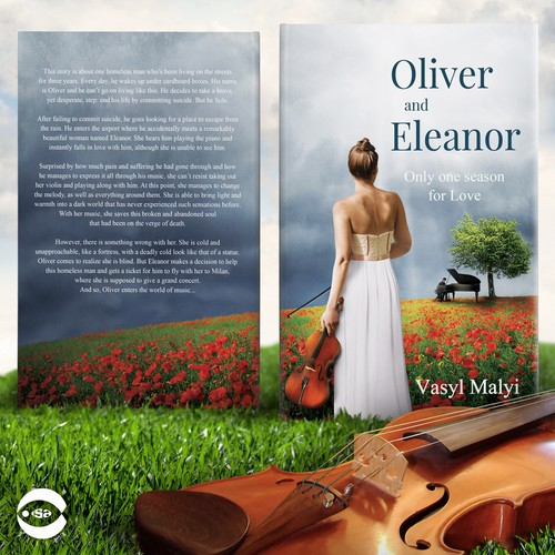 "Book cover for ""Oliver and Eleanor"" by Vasyl Malyi"