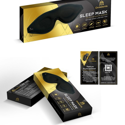 Box Packaging Design with Insert