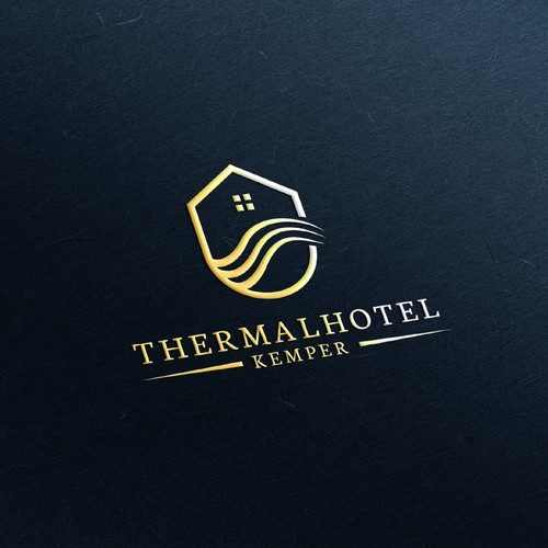 Elegant Logo for Wellness Hotel