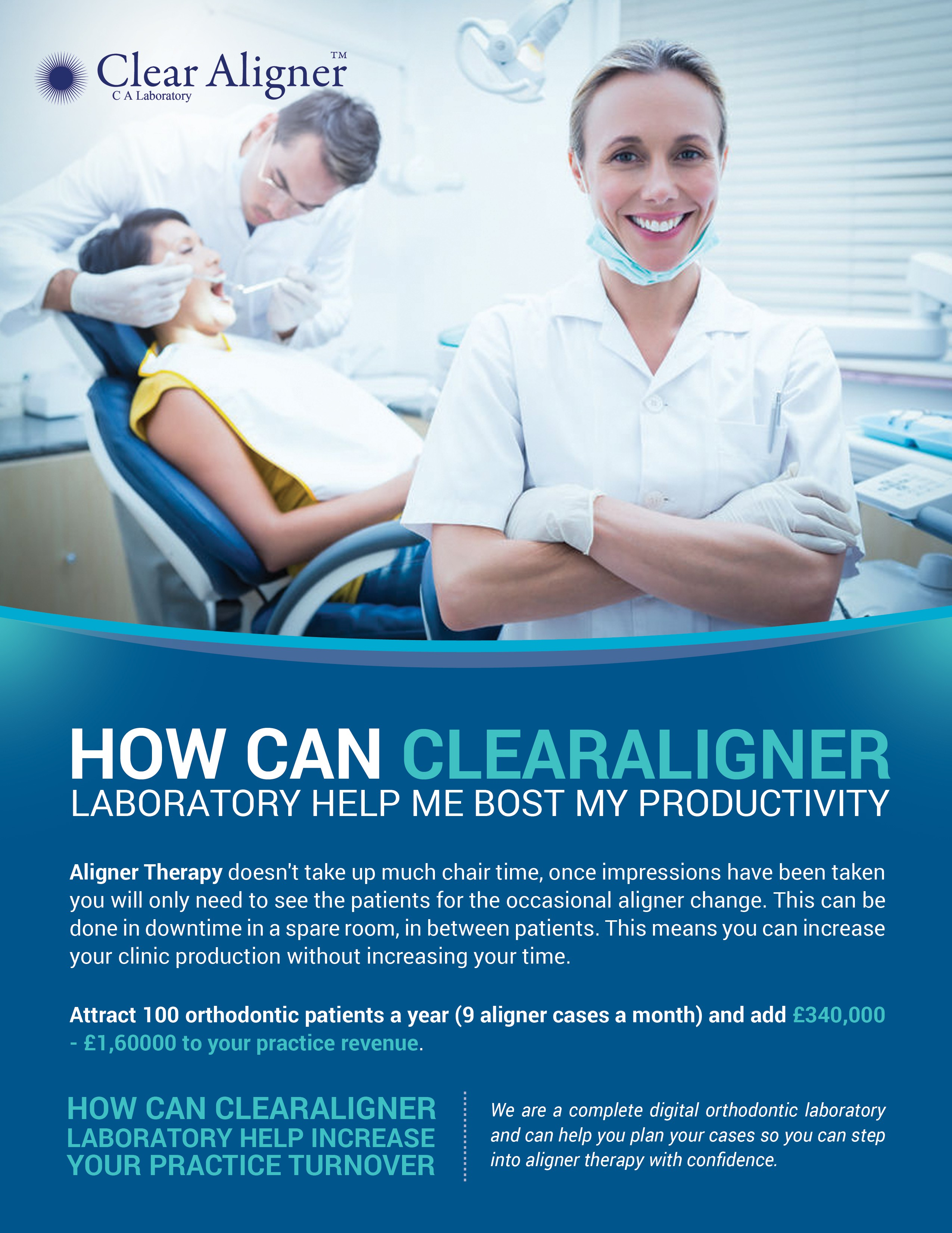Practice Growth Flyer For Clear Braces