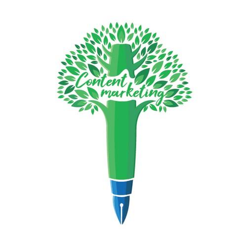 Pen Tree Knoledge Illustration