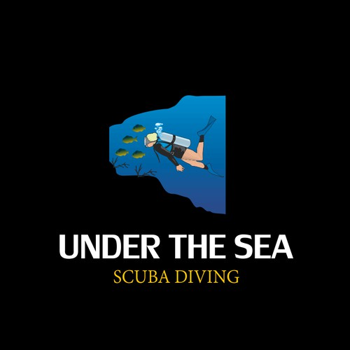 Logo for Under The sea Scuba Diving