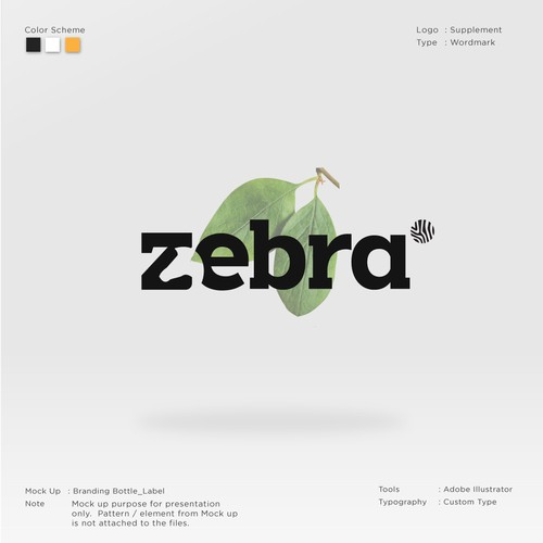 Zebra Logo Food Supplement