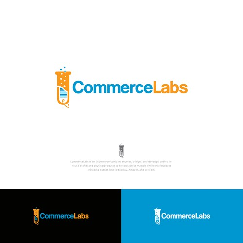 logo for commerce labs