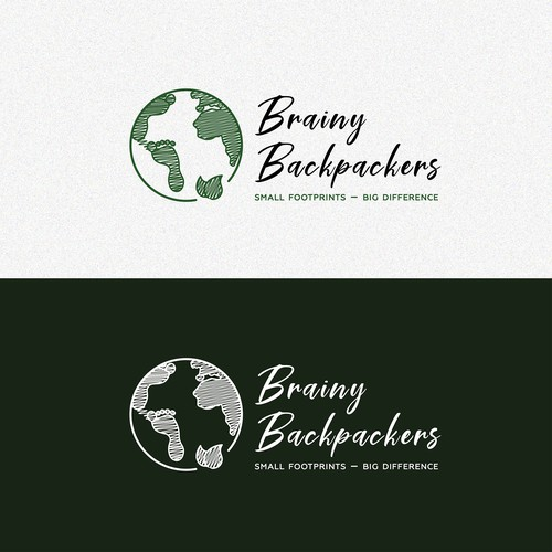 Logo for Brainy Backpackers travel blog