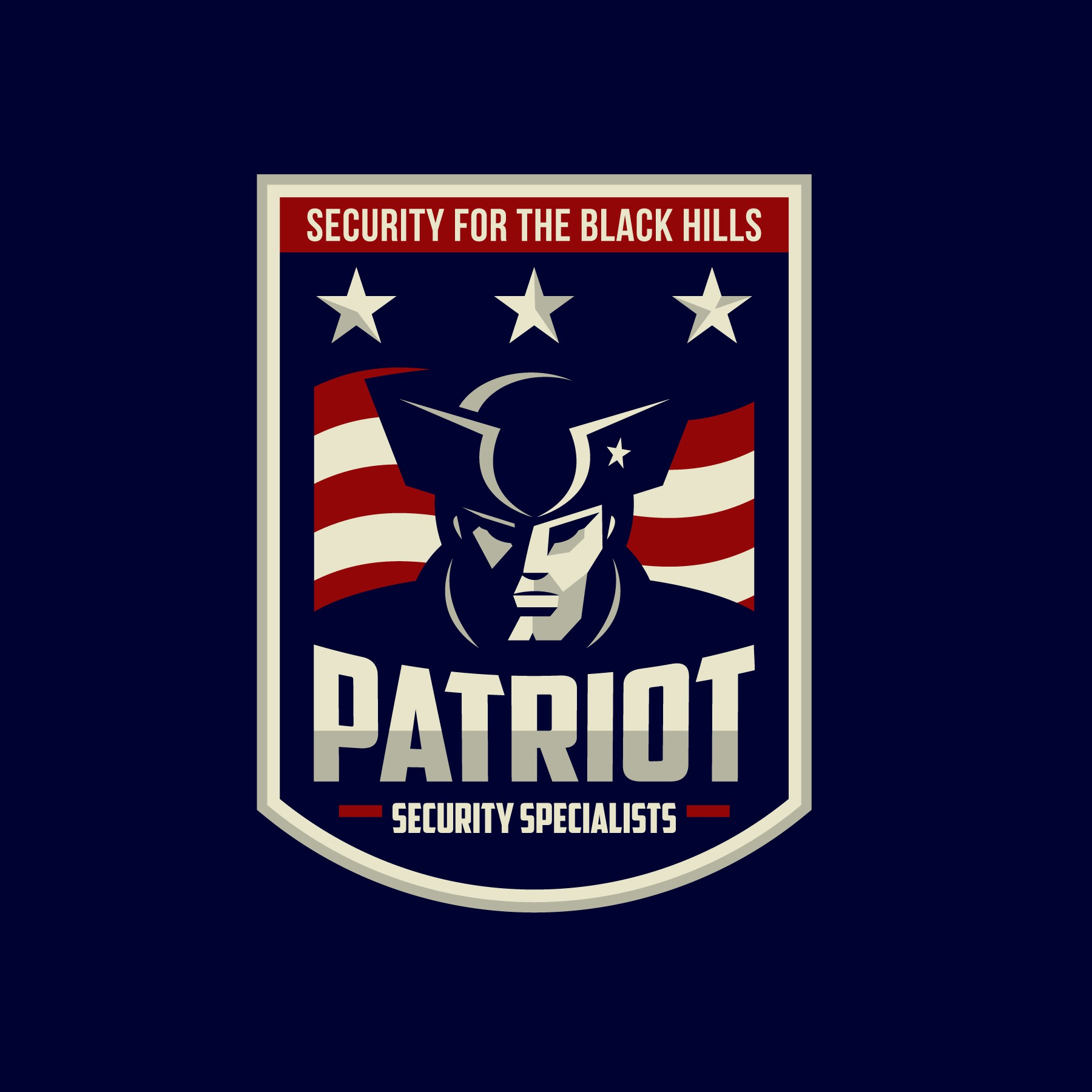 Eye-catching patriot/patriotic Logo for Patriot Security Specialists