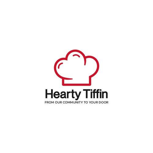 Logo design for Hearty Tiffin
