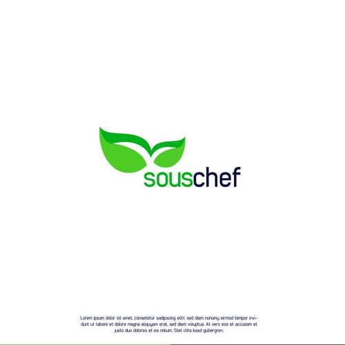 Starkes Logokonzept für eine Koch App