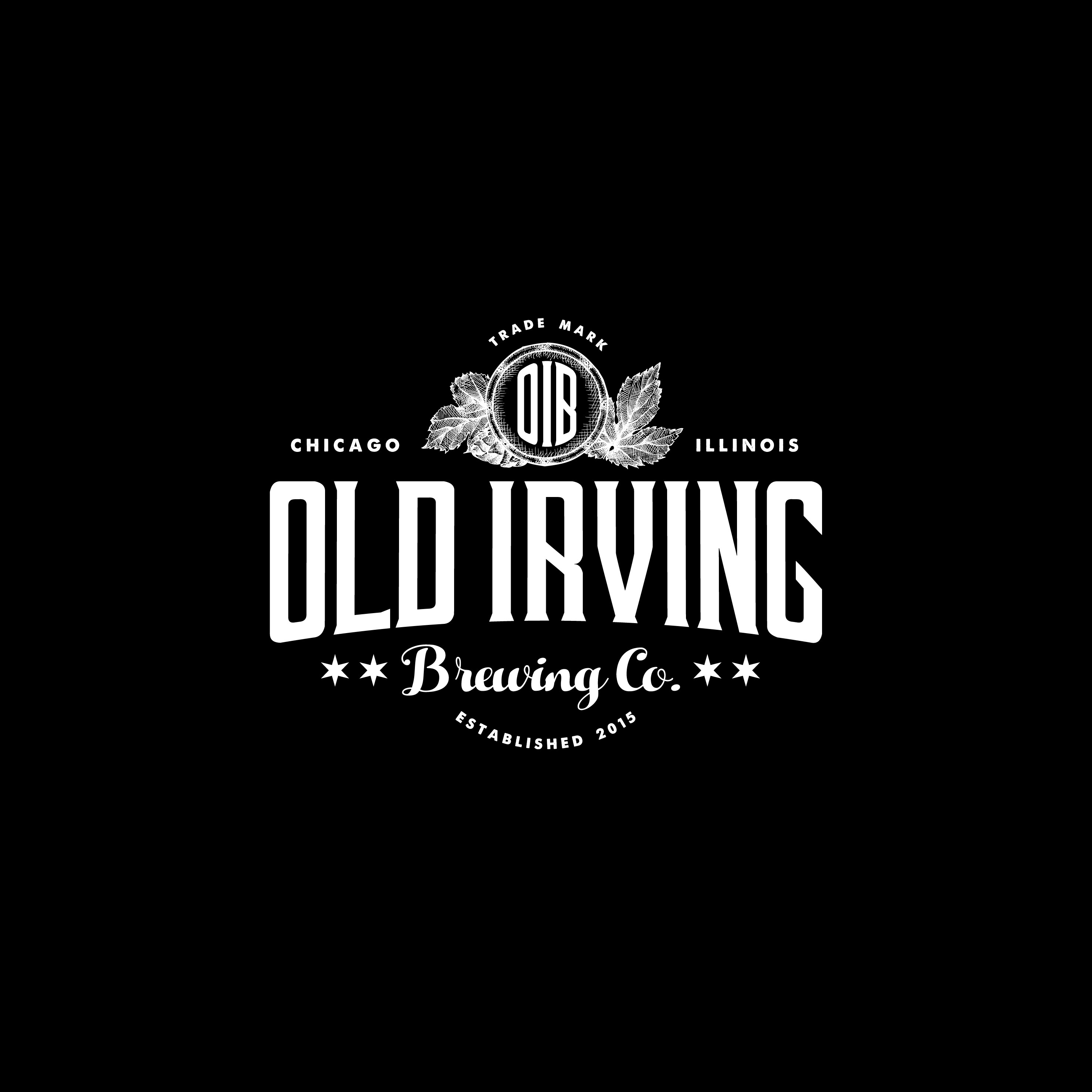 Logo for Old Irving Brewing Co.
