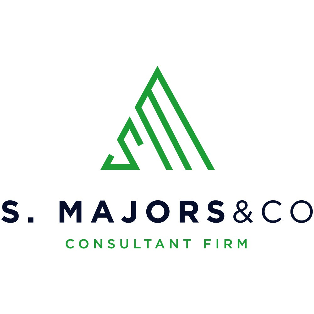 Design a sophisticated/clean/simple logo for S. Majors & Co.