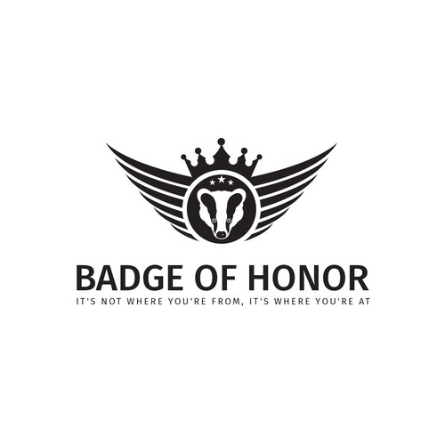 Cultural Logo For Badge of Honor