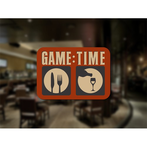 Create a unique eye catching logo for our restaurant and bar.