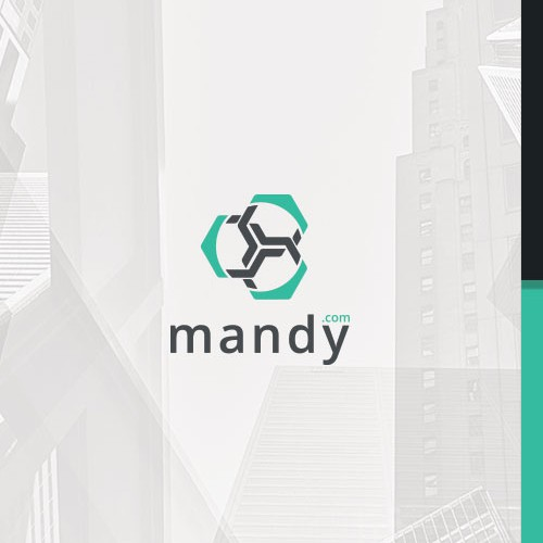 Clean, clear and professional, global mark for mandy.com