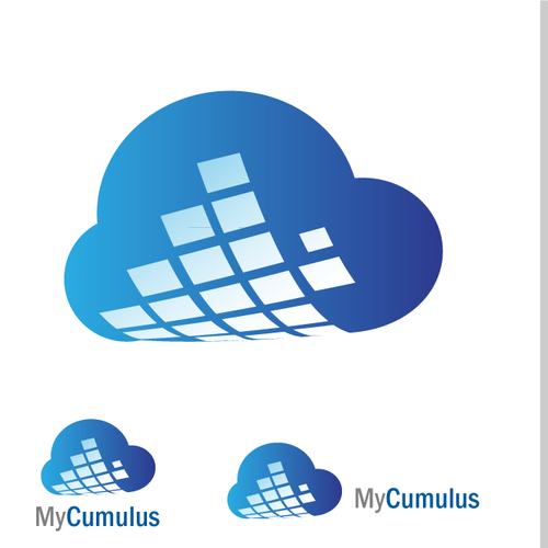 Design of logo for Cloud based mobile data collection.