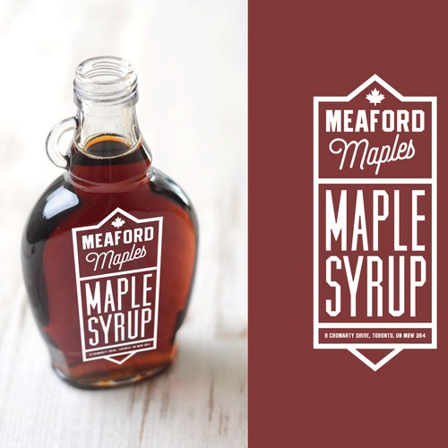 Meaford Maples Labels