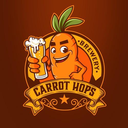 Carrot Hops Logo
