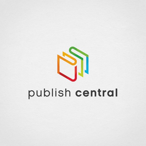 Logo for online publishing services company