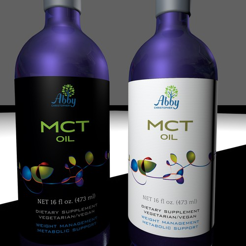 Label for MCT oil