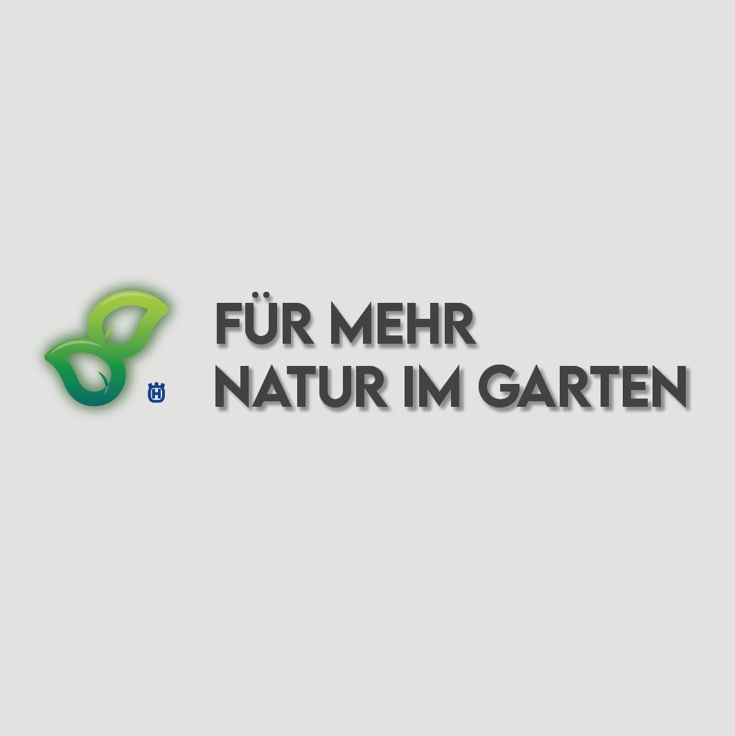 Logo for a natural garden campaign