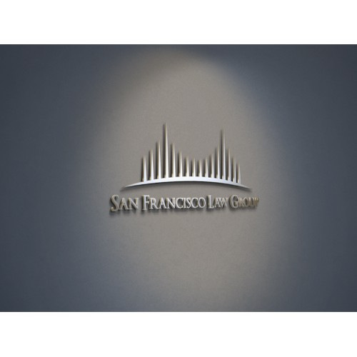 Create an elegant, sophisticated logo for San Francisco Law Group