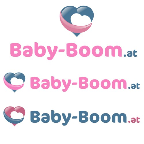 Cute Logo For A Baby Portal