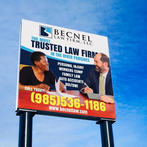 Law Firm Billboard- Rebranding Campaign