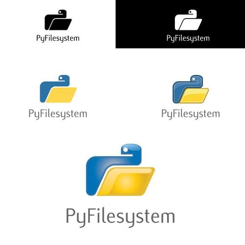 Logo design for PyFilesystem