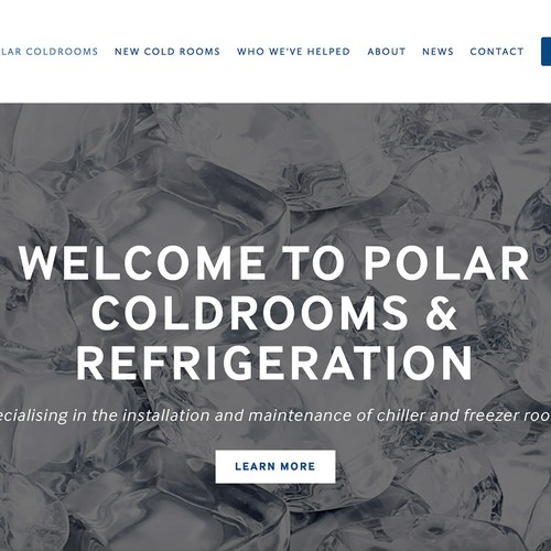 Polar Coldrooms Website