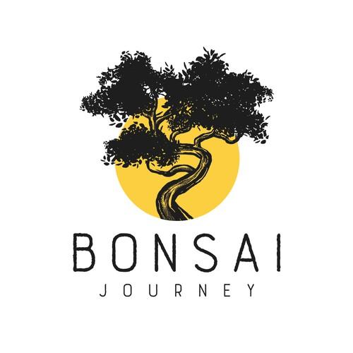 Bonsai blog logo design