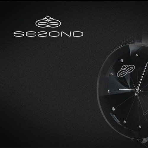 Design a powerful logo for a watch company start up called SE2OND!