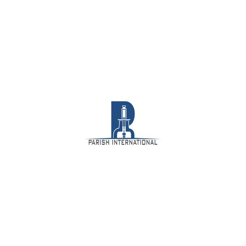 A simple logo concept for Parish International
