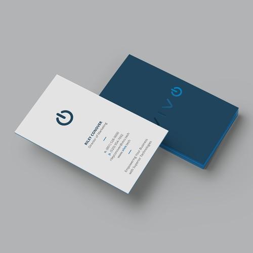 """Unique business card for """"Vivo"""""""