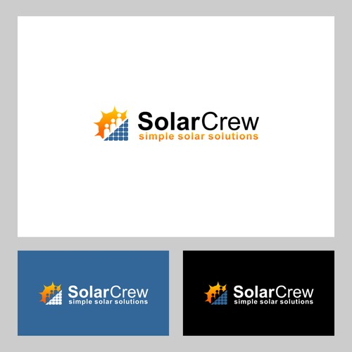 Logo Creation for high tech solar home automation and integration to iHome and Android Platforms