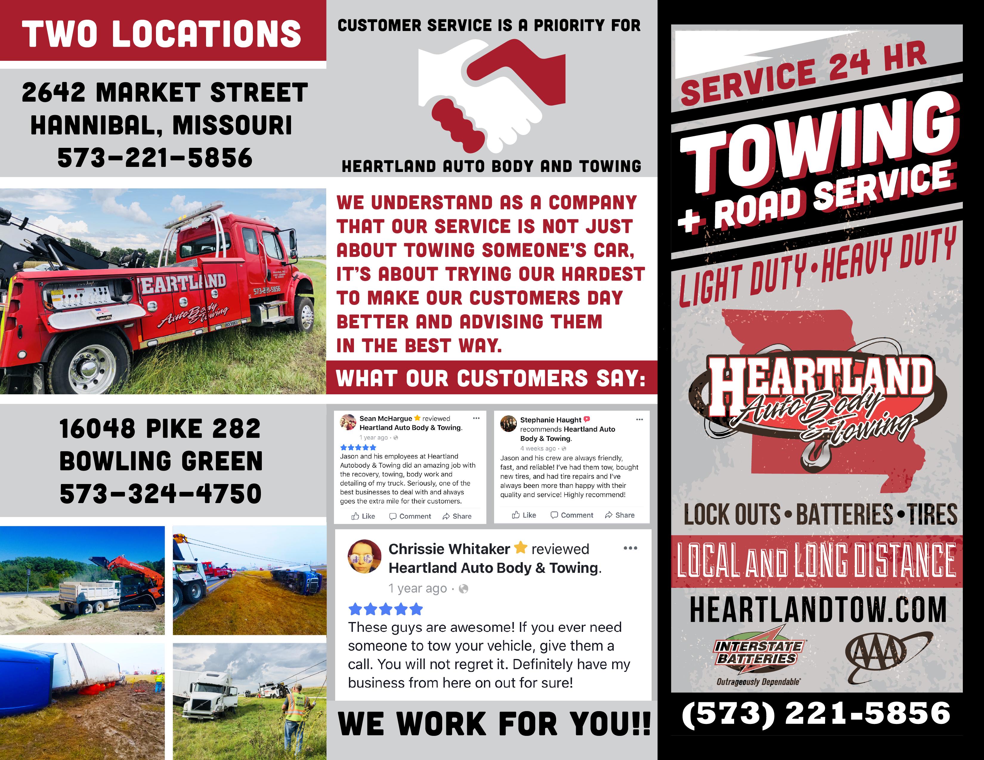 Heartland Tri-Fold Brochure