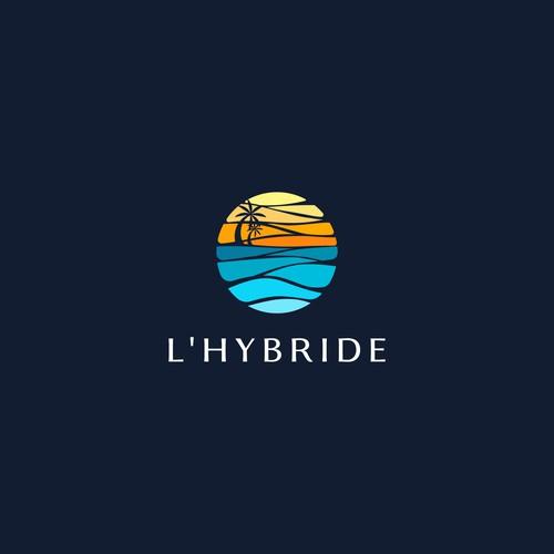 Logo concept for L'Hybride