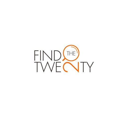 Create a capturing logo for Find The Twenty