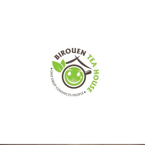 Logo for a Tea House brand
